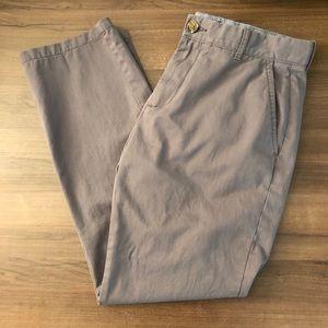 Tommy Hilfiger Gray Custom Fit Pants
